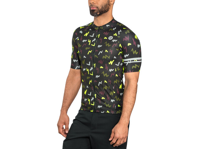 AGU Flash Shortsleeve Jersey Herre black